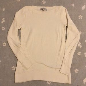 Loft Ivory Sweater